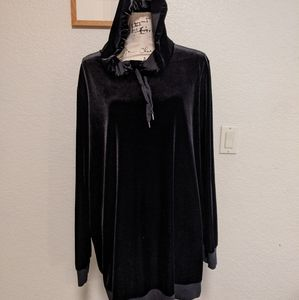 Cute and comfy velor tunic - maternity